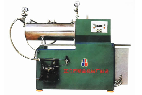 WS系列密闭式卧式砂磨机