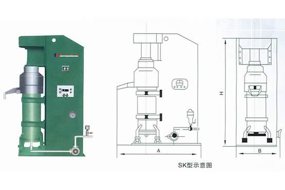 SK型系列砂磨机