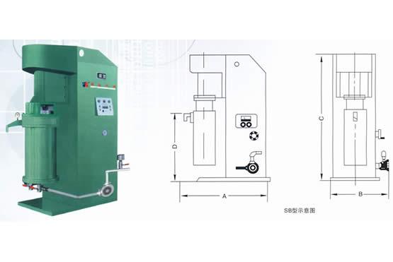 SB系列密闭式砂磨机