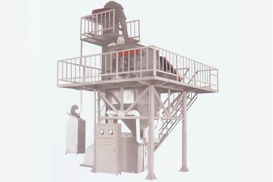 干粉砂浆生产线方案三