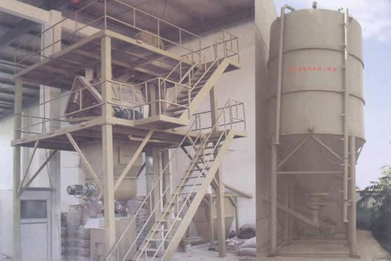 干粉砂浆生产线方案四